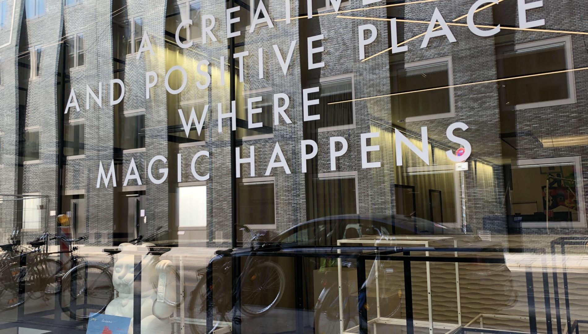Büro der Designagentur das formt in München - Creative and positive place where magic happens.