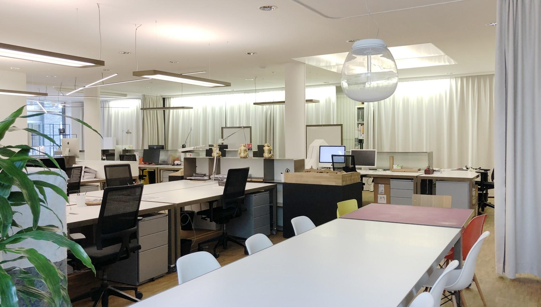 Büro der Werbeagentur das formt in München