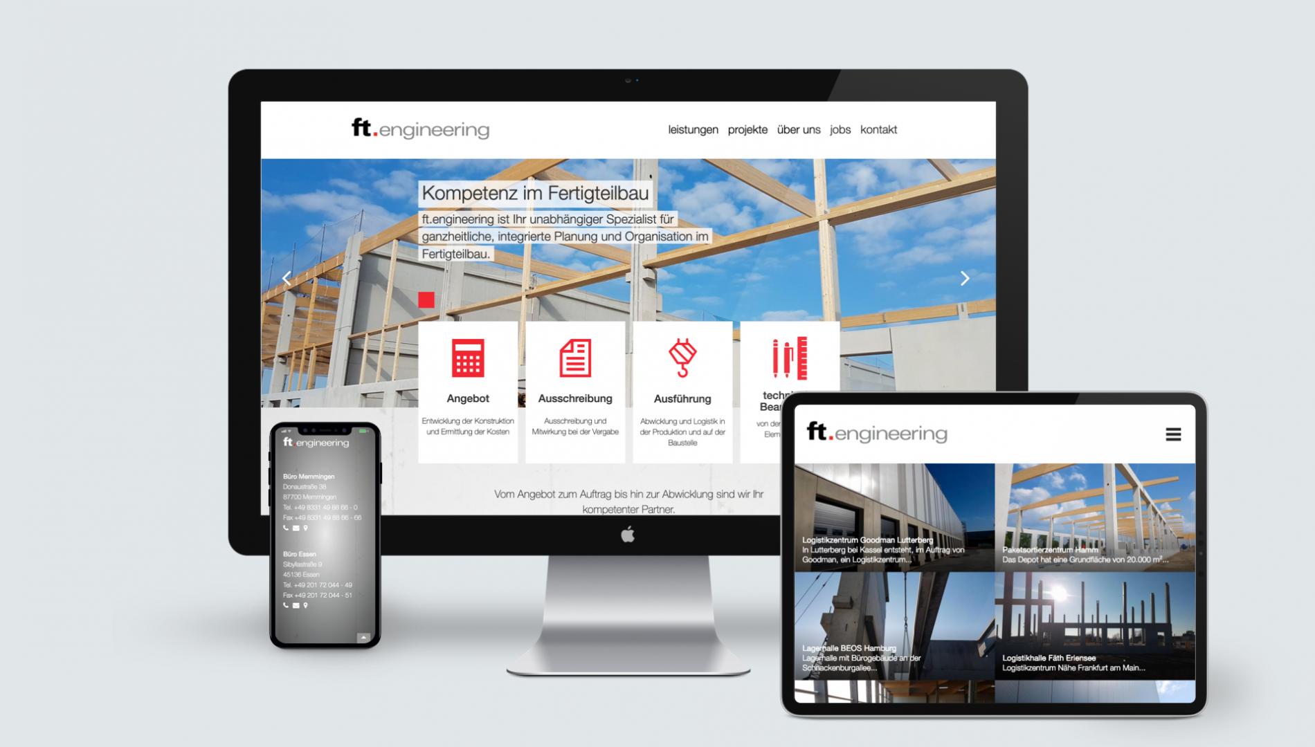 Markenentwicklung, Corporate Design und responsive Internetauftritt mit Silverstripe Content-Management System von der Werbeagentur das formt aus München