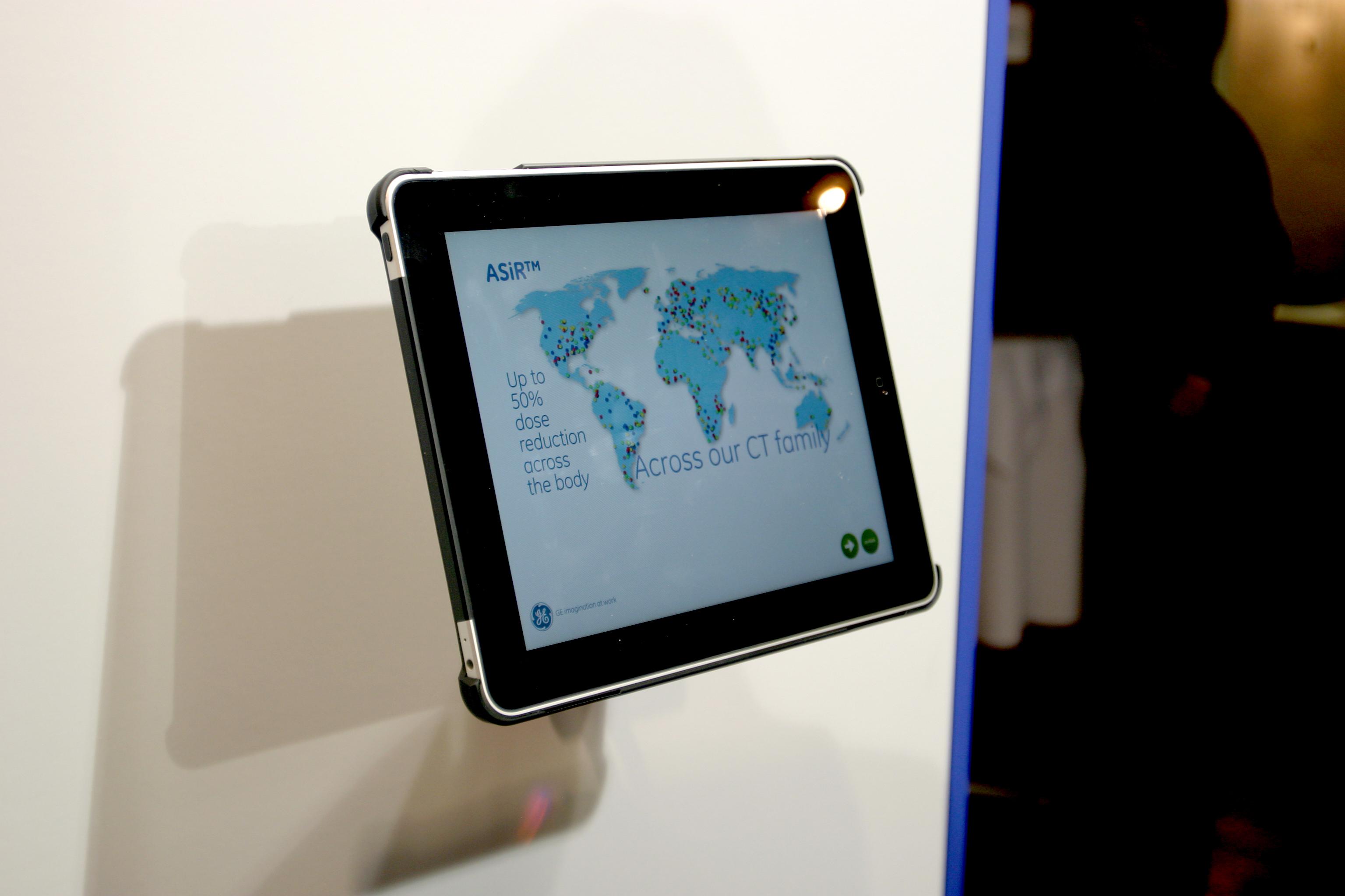 Messedesign und Mobile App für GE Healthcare GmbH von der Designagentur das formt in München