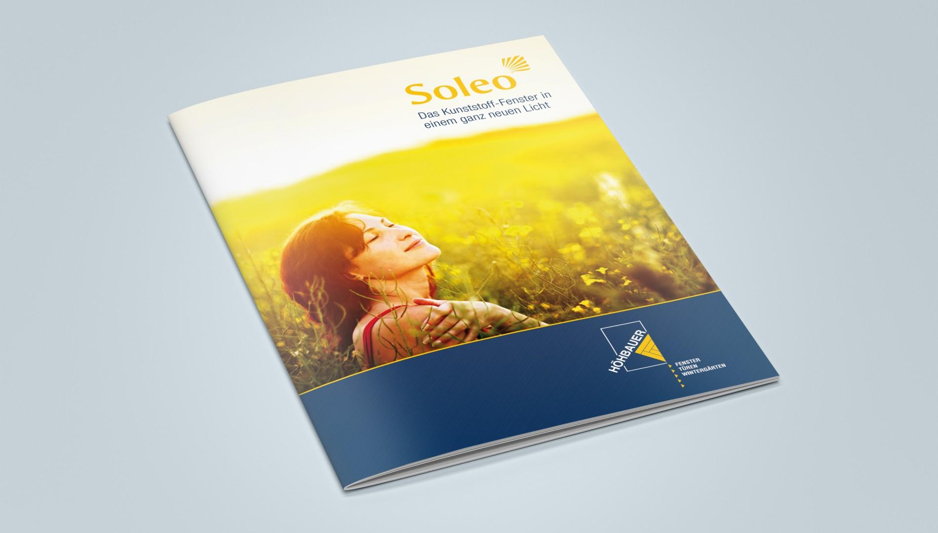 Branding und Produktbroschüre für die Höhbauer GmbH von der Designagentur das formt aus München