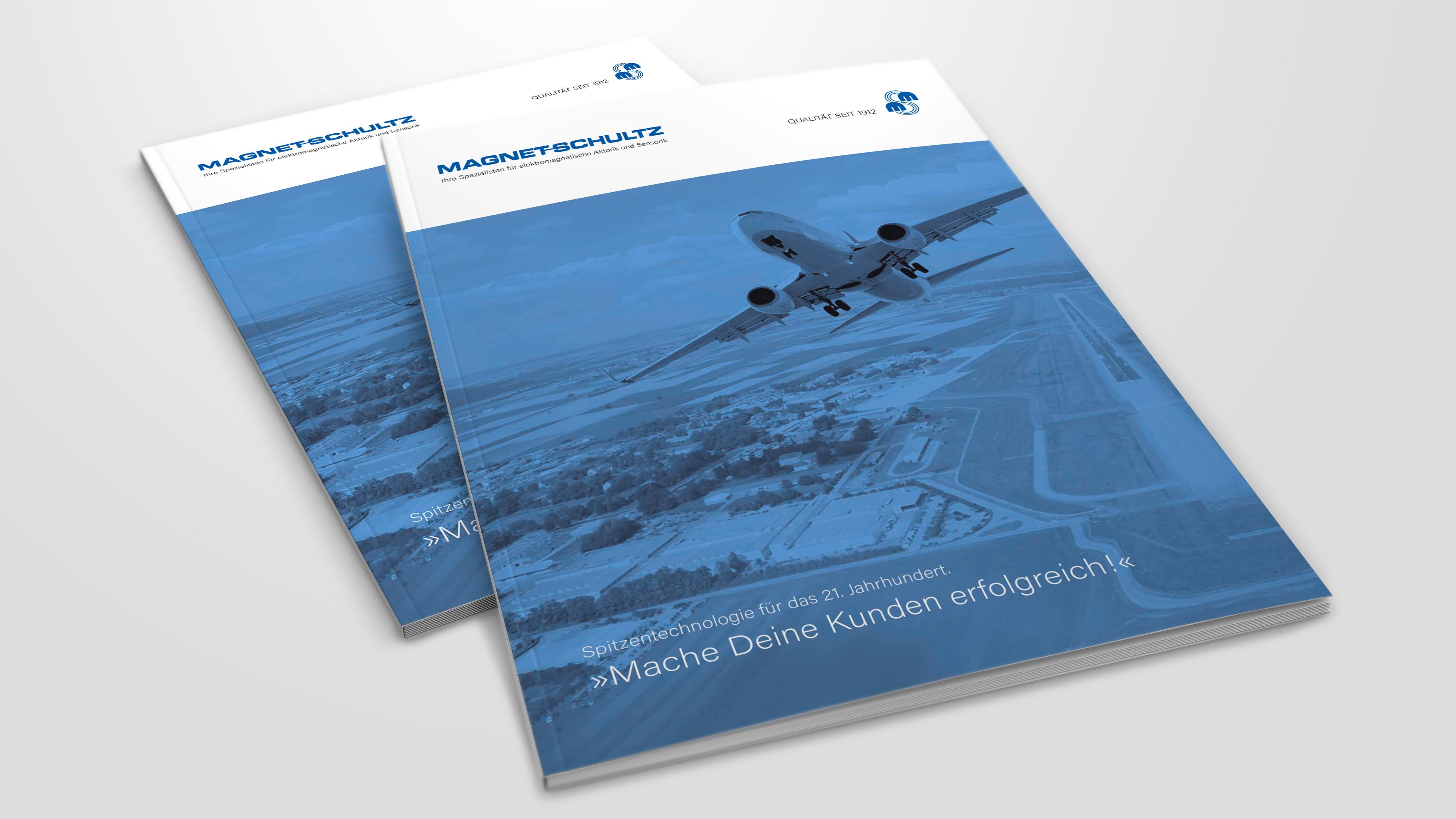 Imagebroschüre für Magnet-Schultz GmbH & Co. KG in Memmingen von der Designagentur das formt aus München