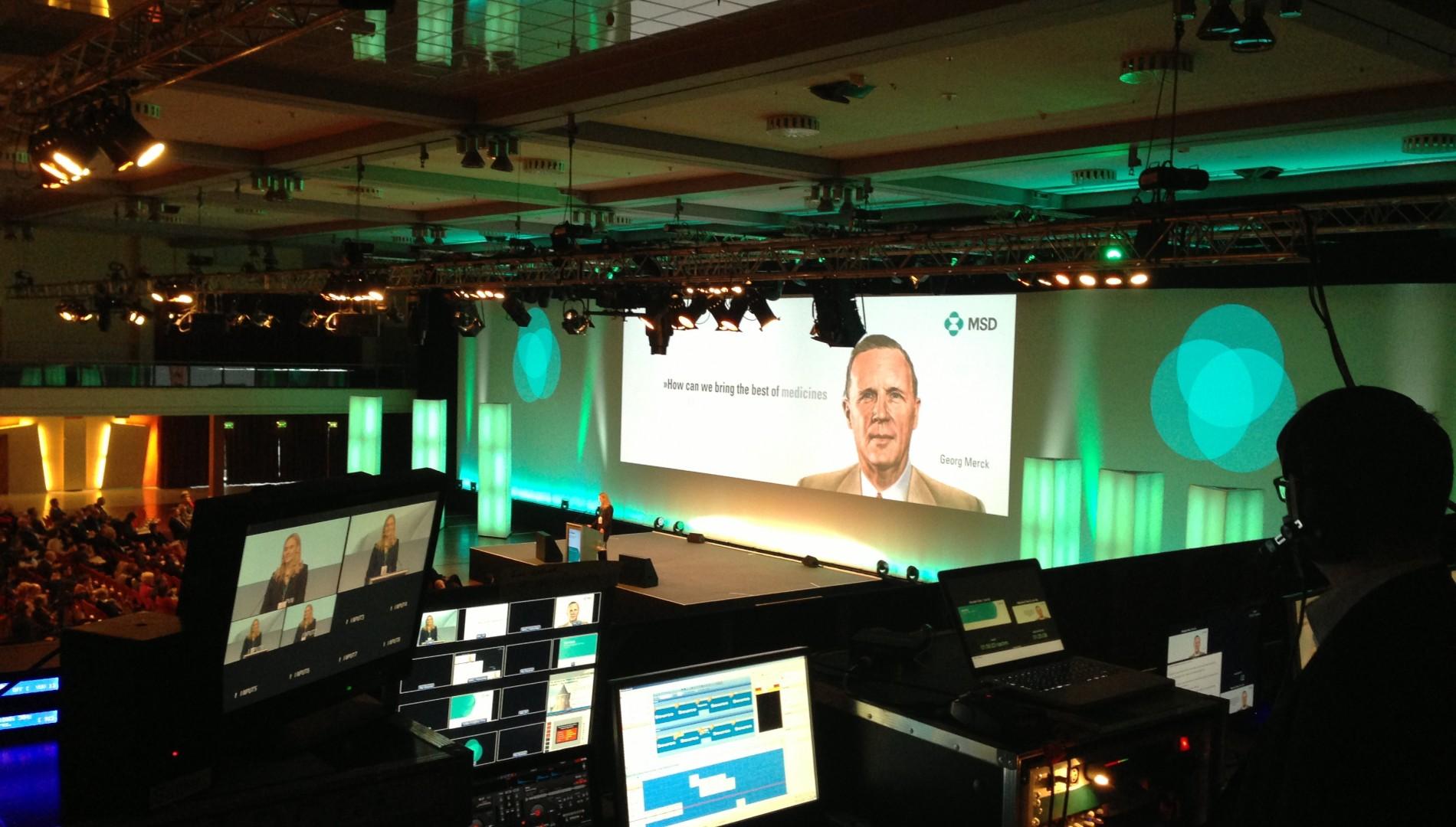 Keynotepresentation für die MSD Sharp & Dohme GmbH von der Designagentur das formt aus München
