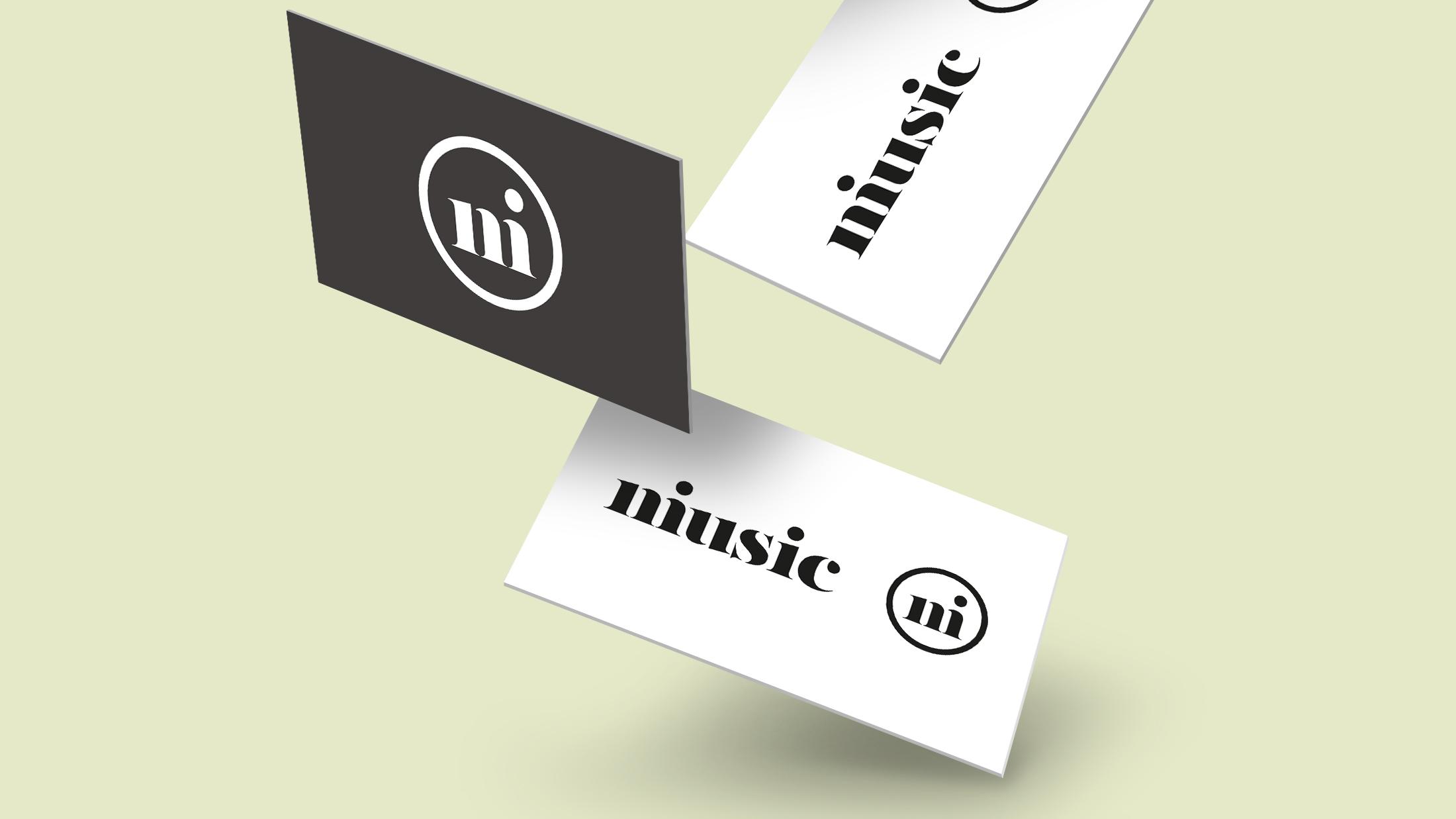 Corporate Design und Visitenkarten für das Magazin niusic von der Designagentur das formt aus München