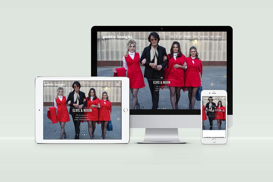 Responsiver Internetauftritt mit Silverstripe-Content-Management-System von der Designagentur das formt aus München