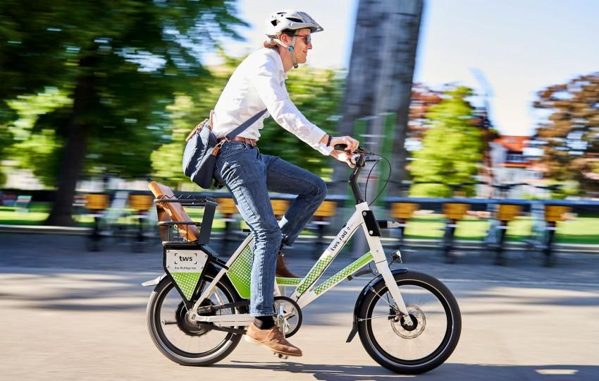 Markenentwicklung und Corporate Design für den mobilen Fahrrad-Leihservice der tws aus Ravensburg und Weingarten von der Designagentur das formt aus München