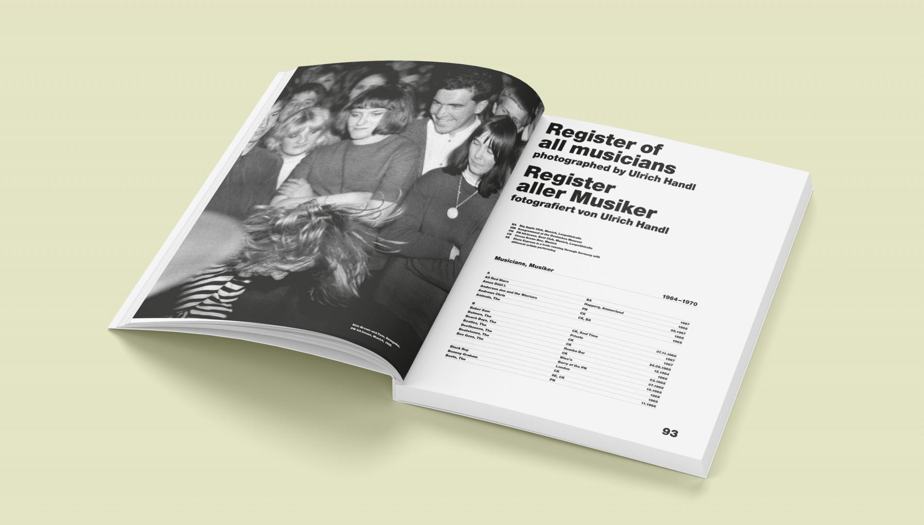 Bildband über den Münchner Photographen Ulrich Handl mit Buchdesign von der Werbeagentur das formt aus München